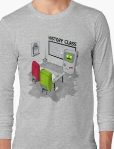 History Class Long Sleeve T-Shirt