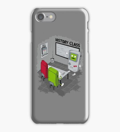 History Class iPhone Case/Skin