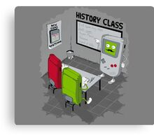 History Class Canvas Print