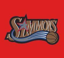 Ben Simmons Logo T-Shirt One Piece - Short Sleeve