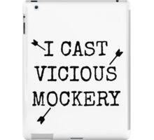 Vicious Mockery iPad Case/Skin