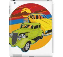 Checking out the sunset iPad Case/Skin