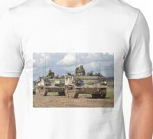 A convoy of British Army FV432 Armoured Personnel Carriers  Unisex T-Shirt