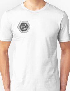 Stippling the flower Unisex T-Shirt