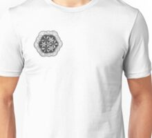 Stippling the flower Unisex T-Shirt