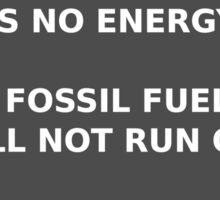 Message From Afar - Energy Crisis Sticker