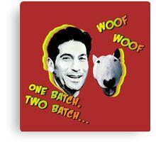 Jon Bernthal & Bull Terrier  Canvas Print