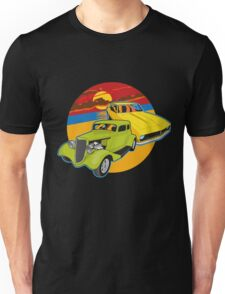 Checking out the sunset Unisex T-Shirt