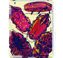 Pink Bugs iPad Case/Skin