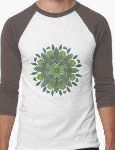 Green Daffodil Men's Baseball ¾ T-Shirt