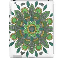 Green Daffodil iPad Case/Skin
