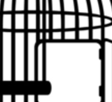 Empty Cage VRS2 Sticker