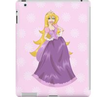 Princess Peach In Pink Dress iPad Case/Skin