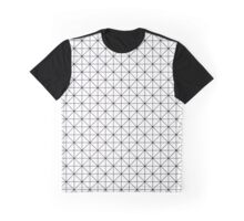Triangles pattern in black and white Graphic T-Shirt