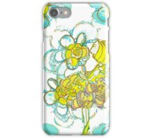 Yellow Winged Flower Fairy  iPhone Case/Skin