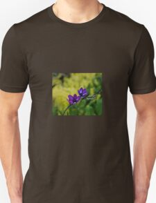 Blue and purple simplicity Unisex T-Shirt