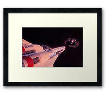 Scar II Framed Print