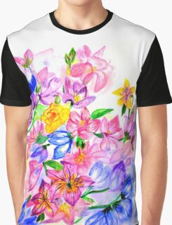 Floral Boutique Graphic T-Shirt