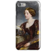 The signal, . William Powell Frith iPhone Case/Skin
