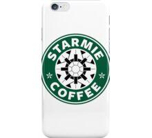 Starmie Coffee - Pokemon Starbucks (white) iPhone Case/Skin