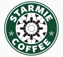 Starmie Coffee - Pokemon Starbucks (white) by TheBlueOwl