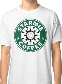 Starmie Coffee - Pokemon Starbucks (white) Classic T-Shirt