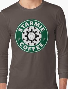 Starmie Coffee - Pokemon Starbucks (white) Long Sleeve T-Shirt