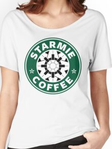 Starmie Coffee - Pokemon Starbucks (white) Women's Relaxed Fit T-Shirt