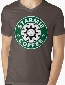 Starmie Coffee - Pokemon Starbucks (white) Mens V-Neck T-Shirt