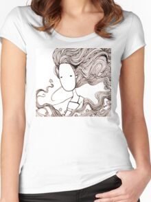 Masked Spirit Women's Fitted Scoop T-Shirt