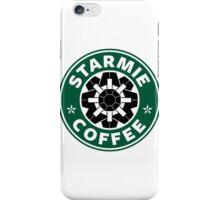 Starmie Coffee - Pokemon Starbucks (black) iPhone Case/Skin