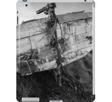 Isle of Lewis, Outer Hebrides, Scotland Abandoned boat near Loch Erisort iPad Case/Skin
