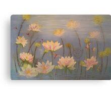 Beautiful lotus, serenity. Canvas Print