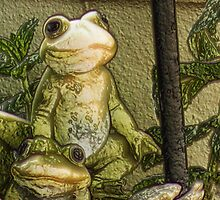 Frogs by Winona Sharp