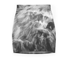 Running stream. Leverburgh Mini Skirt
