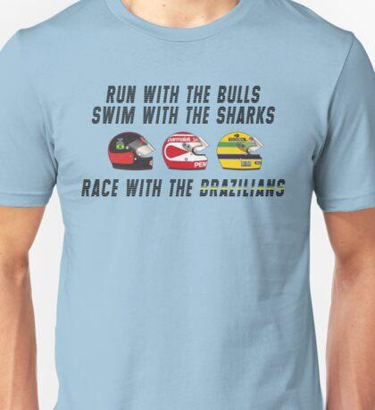 F1 BRAZILIAN HEROES (1) Unisex T-Shirt