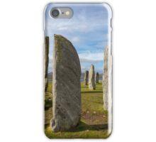 Callanish standing stones iPhone Case/Skin