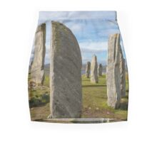 Callanish standing stones Mini Skirt