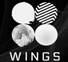 BTS WINGS Sticker