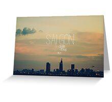 Saigon Greeting Card