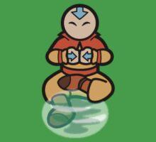 Avatar the legend of aang - air bending  Kids Tee