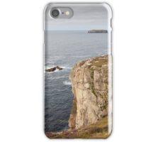 Cliffs near Breanais Isle of Lewis, Outer Hebrides, Scotland iPhone Case/Skin
