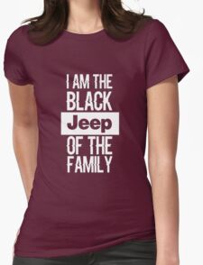 Jeep tshirt funny Womens Fitted T-Shirt