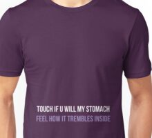 Prince - Touch If U Will My Stomach Unisex T-Shirt
