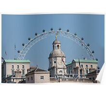 The London Eye and Horse Guards Parade Poster
