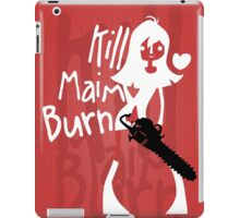 Kill Maim Burn R iPad Case/Skin