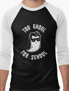 Too Ghoul For School - Funny Halloween Ghost Men's Baseball ¾ T-Shirt