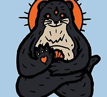 Spirit Otter by Jonah Block