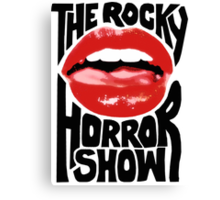 Rocky Horror Show Canvas Print