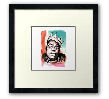 King Big Framed Print